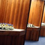 Inside Mountsett Crematorium