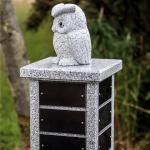 Memorial column owl